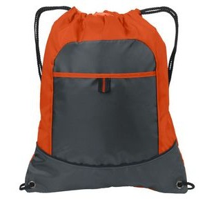 Port Authority® Pocket Cinch Backpack
